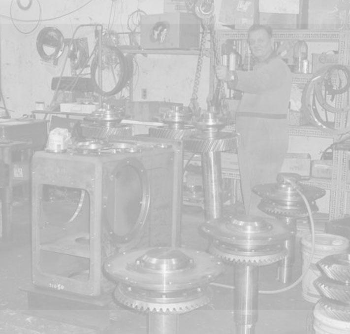 TSM Machine Shop with worker